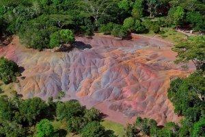 أرض السبعة ألوان في موريشيوس
