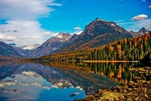 بحيرة ماكدونالد لودج في أمريكا