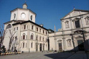كنيسة سان برناردينو الي اوسا في ميلانو