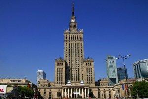 قصر الثقافة والعلوم في وارسو - بولندا