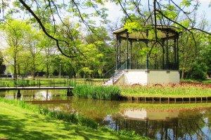 حديقة فونديل - Vondelpark في أمستردام
