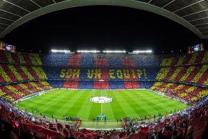 ملعب الكامب نو في برشلونة