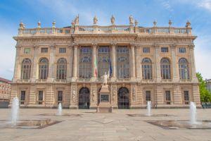 """قصر مادما """"palazzo madama"""" في تورينو"""