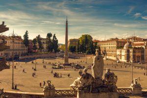 ساحة بوبولو في روما