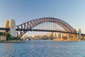 جسر ميناء سيدني في أستراليا