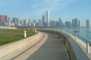 بحيرة تريل في مدينة شيكاغو