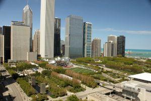 حديقة الألفية في مدينة شيكاغو