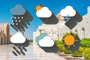 الطقس في مسقط - سلطنة عمان