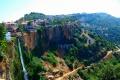 قرية جزين في لبنان