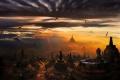 مدينة يوجياكرتا من المدن الكلاسيكية في جزيرة جاوة إندونيسيا
