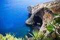 الكهف الأزرق بمالطا