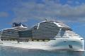 الكشف عن اكبر سفينة ركاب سياحية في العالم