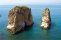 صخرة الروشة لبنان