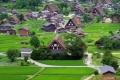 البيوت في قرية شيراكاوا