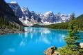 بحيرة مورين الرائعة في كندا