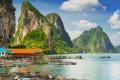 خليج Phang Nga في تايلاند