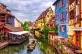 مدينة كولمار في فرنسا ذو الطابع الريفي