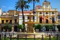 ساحة مايور التاريخية في ميريدا