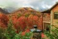 الطبيعة الخلابة حول جبال سموكي