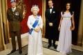العائلة المالكة في متحف الشمع في لندن