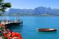بحيرة ثون في سويسرا