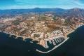 لقطة جوية لساحل مدينة ماربيا
