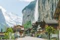 قرية لوتربرونن في سويسرا