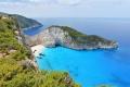 شاطئ حطام السفينة في جزيرة زاكينثوس