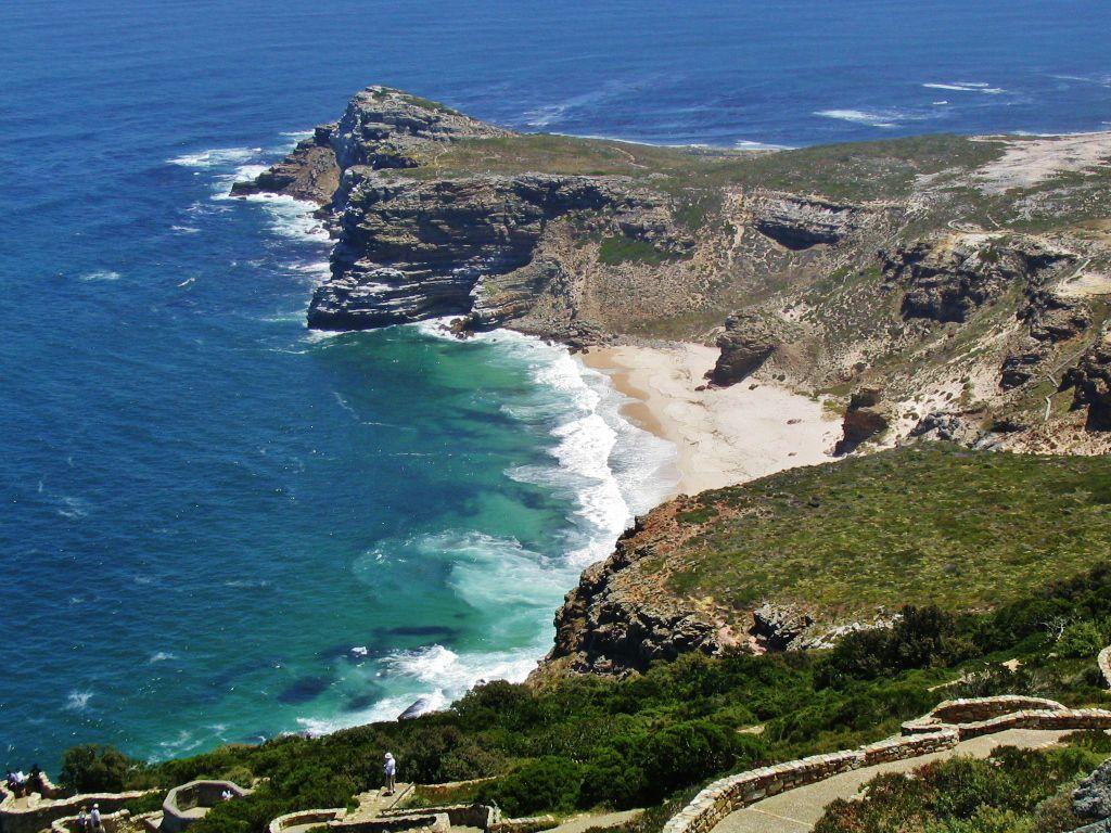 رأس الرجاء الصالح في جنوب افريقيا سائح