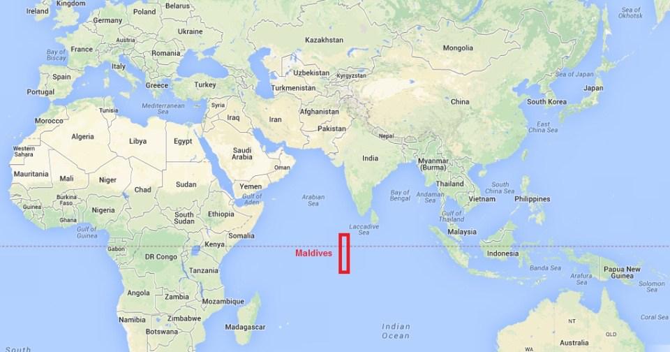أين تقع جزر المالديف | سائح